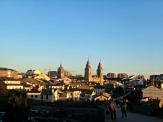Muralla romana e catedral de Lugo