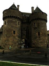 Entrada á vila medieval de Guerande