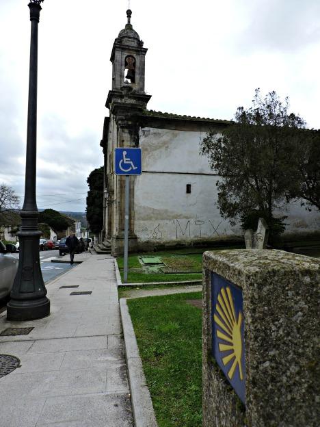 O Camiño Primitivo a Santiago. Igrexa do Carme