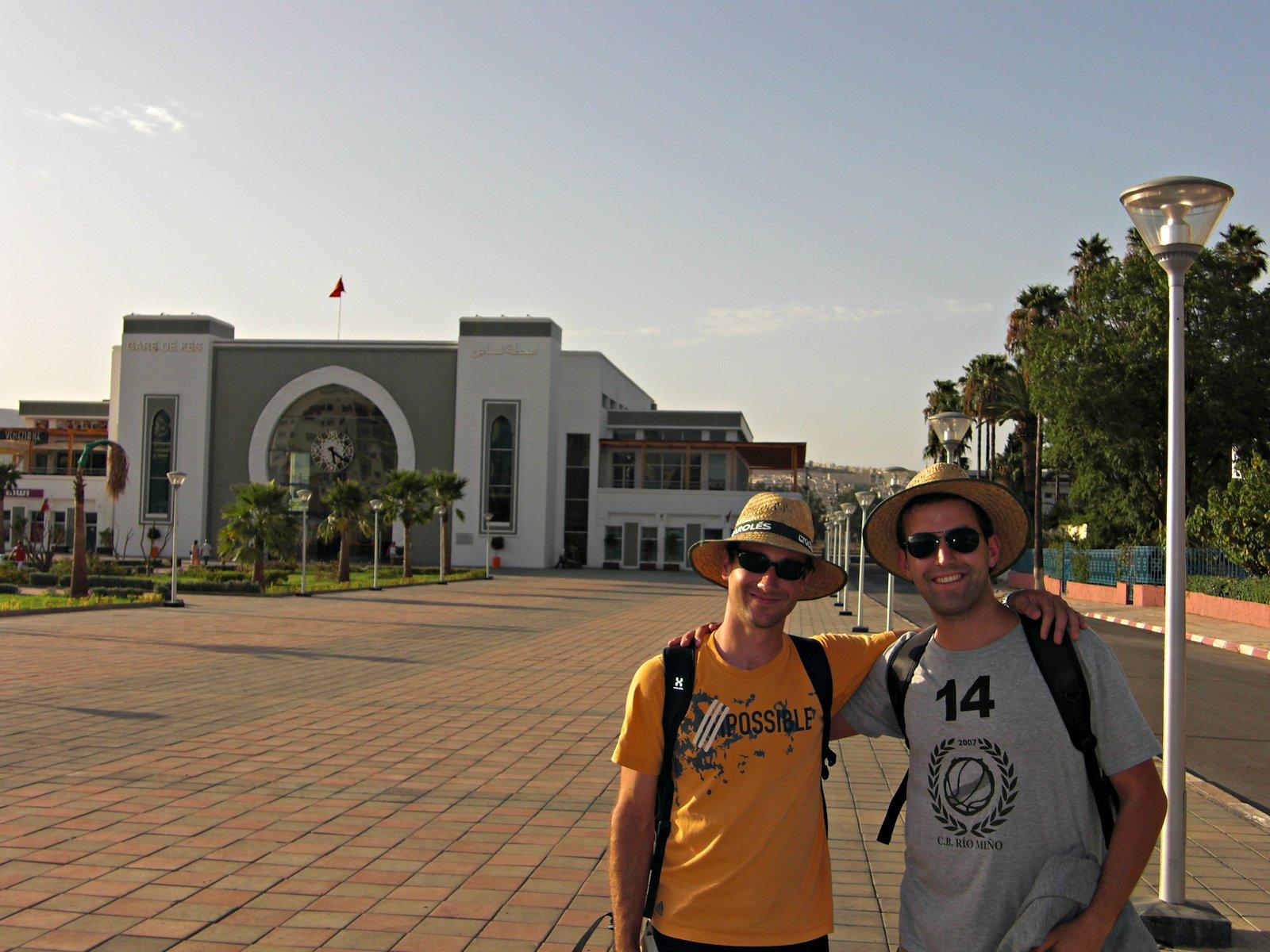 Estación do tren en Fes