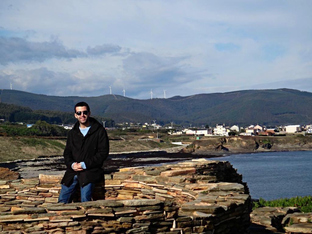 Castro de Fazouro (concello de Foz), ano 2012.