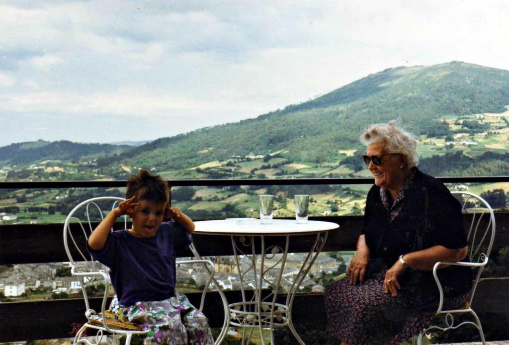 Café-Miradoiro de Mondoñedo, finais dos anos 80.