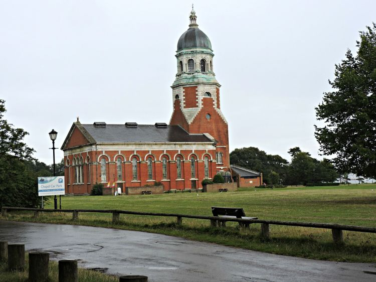 Capela do antigo hospital de Netley, no Royal Victoria Country Park