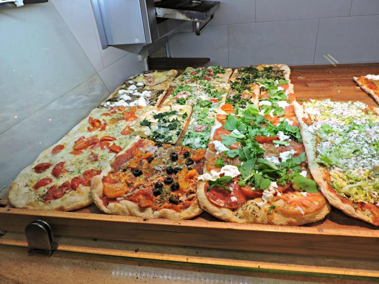 Pizzería Don Miguel, na Piazza Garibaldi de Teramo