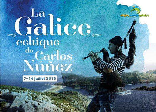 """Viaxes a """"La Galice Celtique de Carlos Núñez"""""""