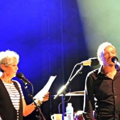 Joan Baez e Alan Stivell no Festival Interceltique de Lorient 2016
