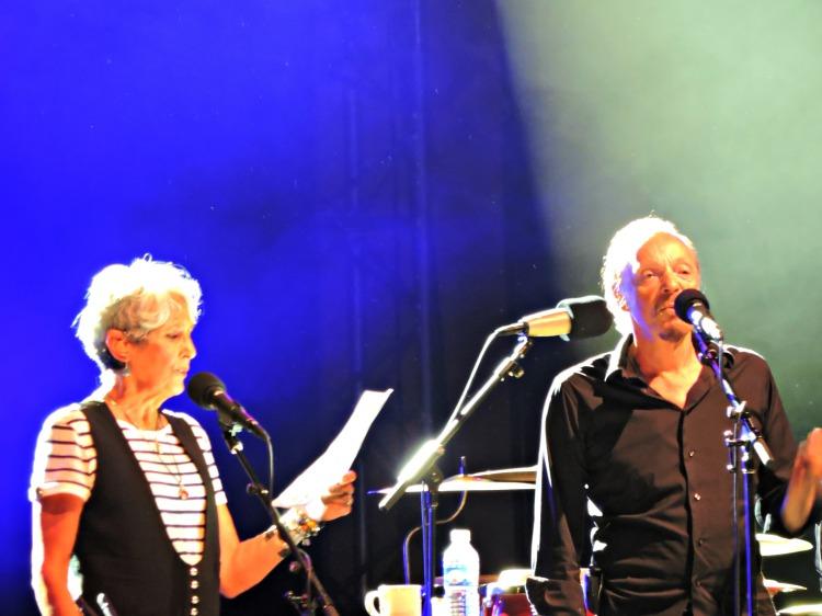 Joan Baez e Alan Stivell no Festival Interceltique de Lorient 2016
