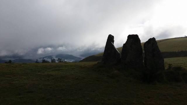 Dolmen de Montouto, a máis de 1000 metros de altitude