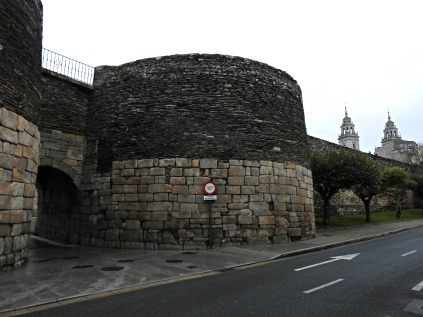 Muralla Romana de Lugo, e Catedral de Santa María