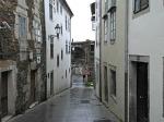 O barrio medieval da Tinería, e a Porta Miñá