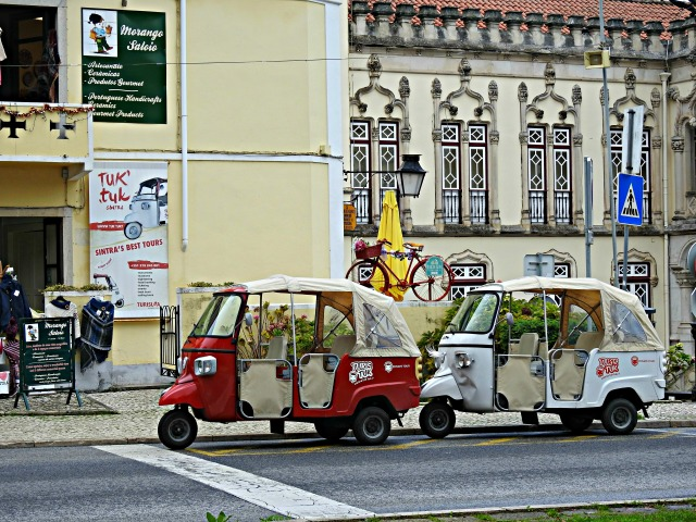Os tuk tuk de Sintra!
