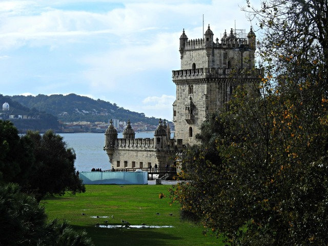 Torre de Belém, construída entre 1514 e 1519. Patrimonio Mundial dende o ano 1983