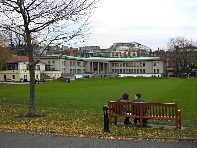 Trinity College, en Dublín