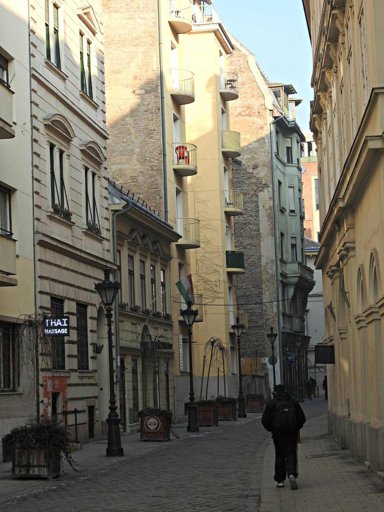 Rúas de Budapest
