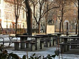 Parque en Budapest
