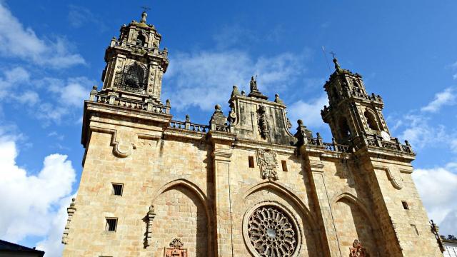 Catedral de Mondoñedo (s. XIII). Patrimonio da Humanidade UNESCO