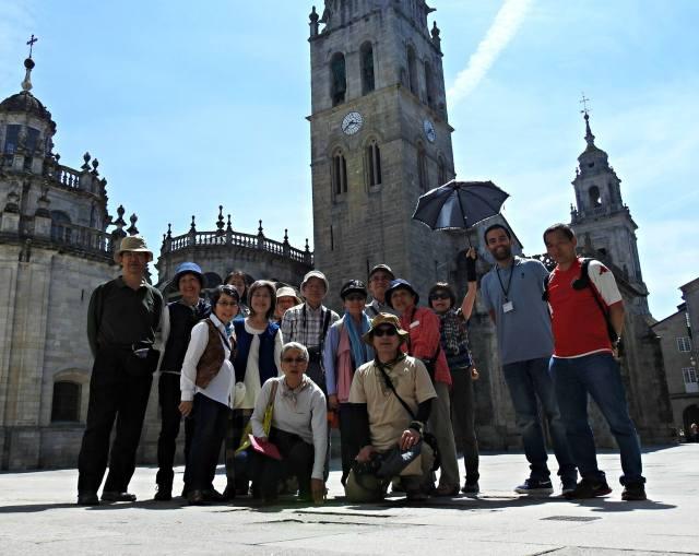 Catedral e Praza de Santa María (Lugo)